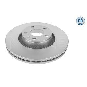 Bremsscheibe Bremsscheibendicke: 30mm, Lochanzahl: 5, Ø: 321mm mit OEM-Nummer 4F0 615 301 E