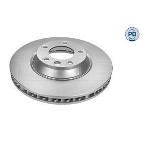 MEYLE  183 521 1103/PD Bremsscheibe Bremsscheibendicke: 34mm, Lochanzahl: 5, Ø: 350mm