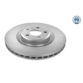 Brake Disc Brake Disc Thickness: 30mm, Num. of holes: 5, Ø: 345mm with OEM Number 8K0 615 301 B