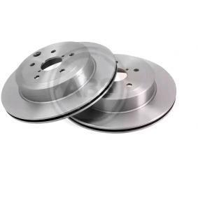 Bremsscheibe Bremsscheibendicke: 20,0mm, Felge: 5-loch, Ø: 316,0mm mit OEM-Nummer 26700 FG010