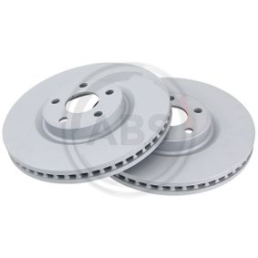 Bremsscheibe Bremsscheibendicke: 32,4mm, Felge: 5-loch, Ø: 316mm mit OEM-Nummer 5 312 312