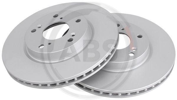 A.B.S.  18505 Brake Disc Brake Disc Thickness: 23mm, Rim: 5-Hole, Ø: 282mm