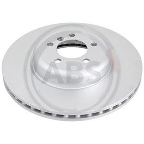 Brake Disc Brake Disc Thickness: 30mm, Rim: 5-Hole, Ø: 370mm with OEM Number 34 106 797 606