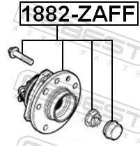 Wheel Hub FEBEST 1882-ZAFF rating