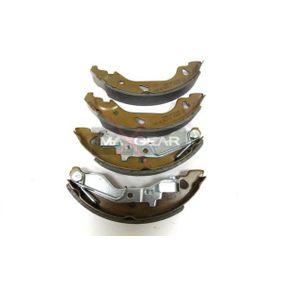 Brake Shoe Set 19-0258 PUNTO (188) 1.2 16V 80 MY 2004