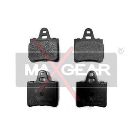 MAXGEAR  19-0400 Bremsbelagsatz, Scheibenbremse Breite: 53,8mm, Breite: 54mm, Höhe: 64,93mm, Höhe: 65,1mm, Dicke/Stärke: 15,4mm