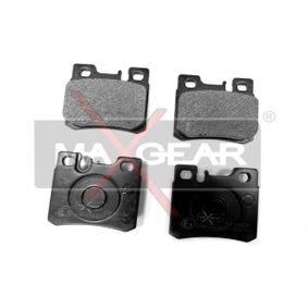 Bremsbelagsatz, Scheibenbremse Breite: 62,6mm, Höhe: 58,5mm, Dicke/Stärke: 15mm mit OEM-Nummer 005 420 1720