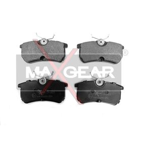 Brake Pad Set, disc brake Width: 87,4mm, Height: 42,5mm, Thickness: 14,7mm with OEM Number 1 107 698