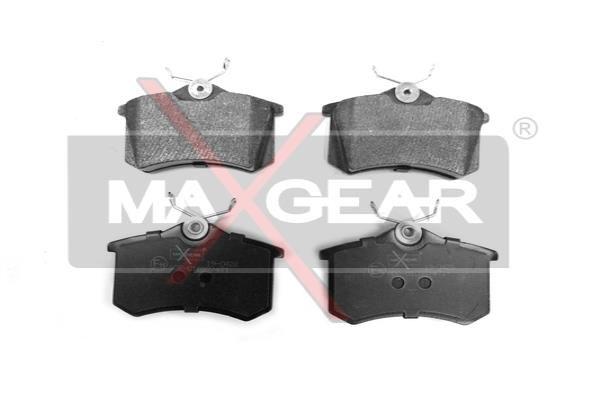 MAXGEAR  19-0428 Jogo de pastilhas para travão de disco Largura: 87mm, Altura: 53mm, Espessura: 17,2mm