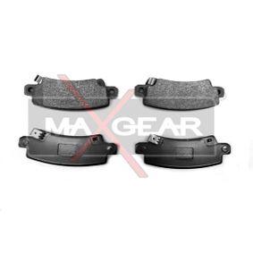 Bremsbelagsatz, Scheibenbremse Breite: 95,5mm, Höhe: 37,8mm, Dicke/Stärke: 15,8mm mit OEM-Nummer 04466 02 020