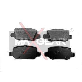 Bremsbelagsatz, Scheibenbremse Höhe: 41,5mm, Dicke/Stärke: 14,3mm mit OEM-Nummer 414420 01 20
