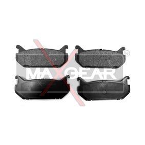 Bremsbelagsatz, Scheibenbremse Breite: 100mm, Höhe: 43,5mm, Dicke/Stärke: 14,8mm mit OEM-Nummer G5Y52643Z
