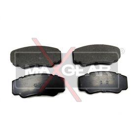 Bremsbelagsatz, Scheibenbremse Breite: 109,7mm, Höhe: 49,9mm, Dicke/Stärke: 20,1mm mit OEM-Nummer 9949408