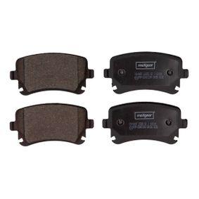 Bremsbelagsatz, Scheibenbremse Breite: 116,5mm, Höhe: 59mm, Dicke/Stärke: 17,7mm mit OEM-Nummer JZW-698-451-M