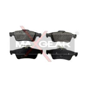 2010 Mazda 3 BL 2.0 (BLEFP) Brake Pad Set, disc brake 19-0523