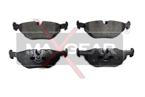 MAXGEAR  19-0529 Bremsbelagsatz, Scheibenbremse Breite: 123mm, Höhe: 45,3mm, Dicke/Stärke: 17,3mm