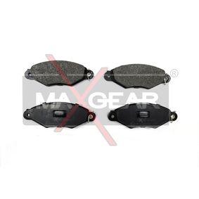 Bremsbelagsatz, Scheibenbremse Breite: 130,9mm, Höhe: 47,3mm, Dicke/Stärke: 18mm mit OEM-Nummer 42.5205