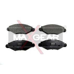 Bremsbelagsatz, Scheibenbremse Breite: 131,2mm, Höhe: 47,3mm, Dicke/Stärke: 18mm mit OEM-Nummer 4253 05