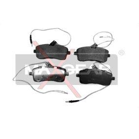 Bremsbelagsatz, Scheibenbremse Breite: 131,2mm, Höhe: 66,7mm, Dicke/Stärke: 18,7mm mit OEM-Nummer 4254.22