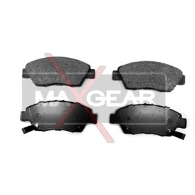 Brake Pad Set, disc brake Width: 136,6mm, Height: 57,8mm, Thickness: 17,3mm with OEM Number 45022-TR2-A01