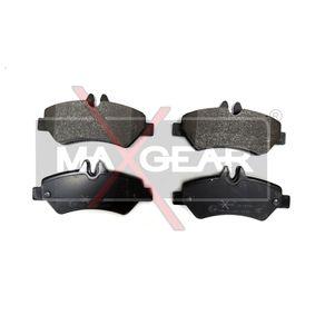 Bremsbelagsatz, Scheibenbremse Breite: 137mm, Höhe: 63mm, Dicke/Stärke: 19mm mit OEM-Nummer A004 420 69 20