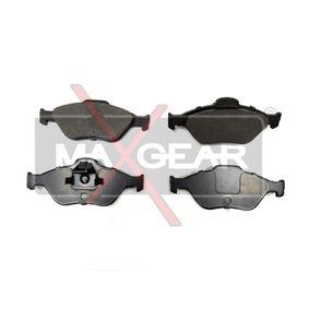 2006 Ford Fiesta Mk5 1.4 TDCi Brake Pad Set, disc brake 19-0619