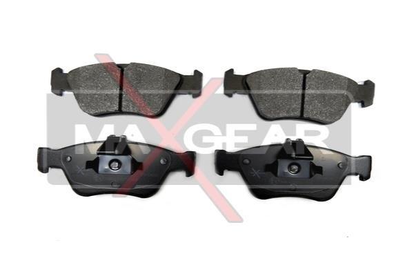 MAXGEAR  19-0620 Bremsbelagsatz, Scheibenbremse Breite: 151,3mm, Höhe 1: 60mm, Höhe 2: 66,2mm, Dicke/Stärke: 19,8mm