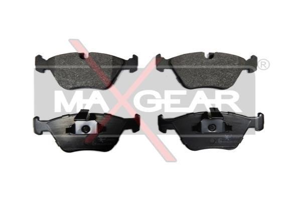MAXGEAR  19-0635 Bremsbelagsatz, Scheibenbremse Breite: 155,3mm, Höhe: 63,9mm, Dicke/Stärke: 20,3mm