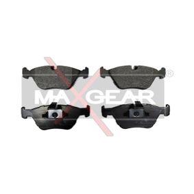 Bremsbelagsatz, Scheibenbremse Breite: 155,3mm, Höhe: 63,9mm, Dicke/Stärke: 20,3mm mit OEM-Nummer 34 11 1 163 387