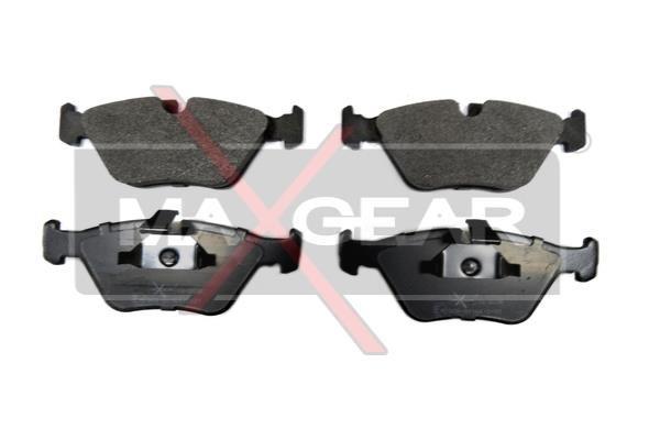 MAXGEAR  19-0636 Bremsbelagsatz, Scheibenbremse Breite 1: 154,6mm, Breite: 155,3mm, Höhe 1: 63,9mm, Dicke/Stärke: 20,3mm
