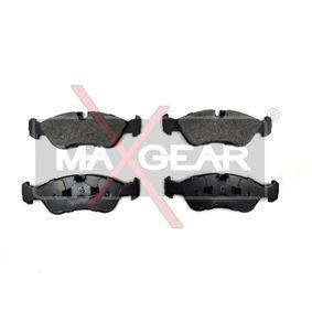 Bremsbelagsatz, Scheibenbremse Breite: 156,5mm, Höhe: 52,4mm, Dicke/Stärke: 18,3mm mit OEM-Nummer 16.05.808