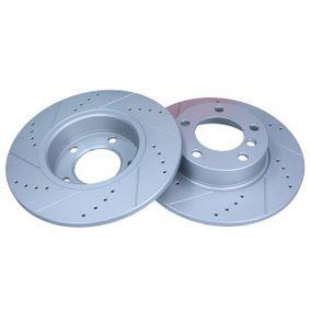 Bremsscheibe Bremsscheibendicke: 12mm, Lochanzahl: 5, Ø: 286mm mit OEM-Nummer 6757750