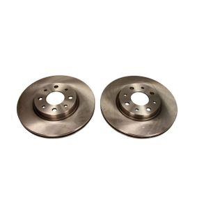 Bremsscheibe Bremsscheibendicke: 20mm, Lochanzahl: 4, Ø: 257mm mit OEM-Nummer 51749124