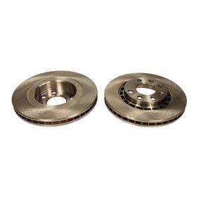 Bremsscheibe Bremsscheibendicke: 24mm, Lochanzahl: 6, Ø: 256mm mit OEM-Nummer 569042