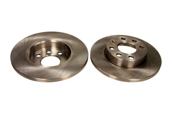 MAXGEAR  19-0744 Bremsscheibe Bremsscheibendicke: 12,6mm, Lochanzahl: 6, Ø: 236mm