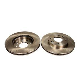 Bremsscheibe Bremsscheibendicke: 20,1mm, Lochanzahl: 4, Ø: 238mm mit OEM-Nummer 40206-00Q0D