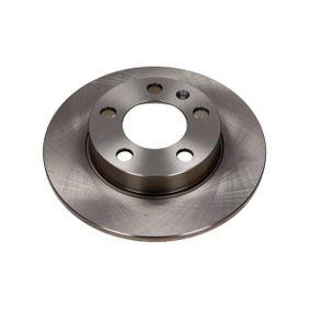 Bremsscheibe Bremsscheibendicke: 9mm, Ø: 232mm mit OEM-Nummer 1J0 615 601 C