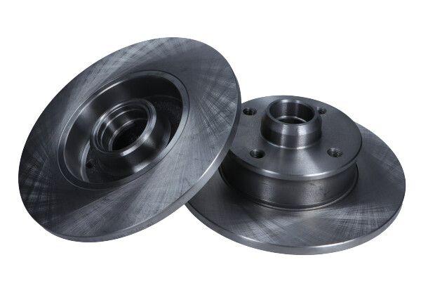 MAXGEAR  19-0753 Bremsscheibe Bremsscheibendicke: 10mm, Lochanzahl: 4, Ø: 226mm, Ø: 226mm