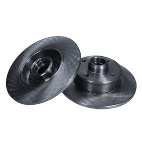 Bremsscheibe Bremsscheibendicke: 10mm, Lochanzahl: 4, Ø: 226mm mit OEM-Nummer 6N0615601