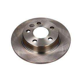 Bremsscheibe Bremsscheibendicke: 10mm, Lochanzahl: 5, Ø: 268mm mit OEM-Nummer 1137985