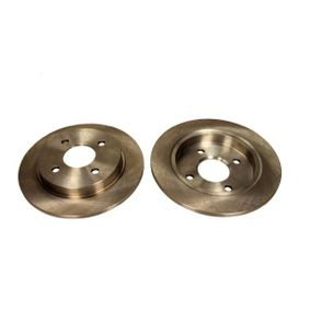 Brake Disc Brake Disc Thickness: 10mm, Num. of holes: 4, Ø: 253mm with OEM Number 95GB 2A315B 1C