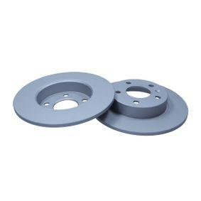 Bremsscheibe Bremsscheibendicke: 10mm, Ø: 264mm mit OEM-Nummer 90575113