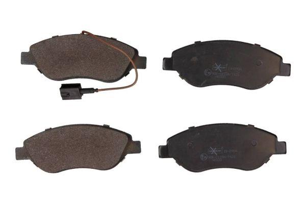 MAXGEAR  19-0904 Bremsbelagsatz, Scheibenbremse Breite: 150,8mm, Höhe: 57,4mm, Dicke/Stärke: 19,4mm