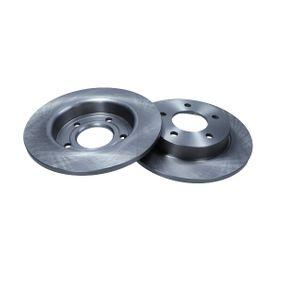 2011 Mazda 3 BL 1.6 MZR CD Brake Disc 19-1011
