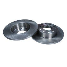 Bremsscheibe Bremsscheibendicke: 12mm, Lochanzahl: 5, Ø: 257mm mit OEM-Nummer 1K0 615 601L