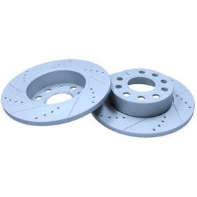 Bremsscheibe Bremsscheibendicke: 12mm, Lochanzahl: 9, Ø: 256mm mit OEM-Nummer 1KD615601