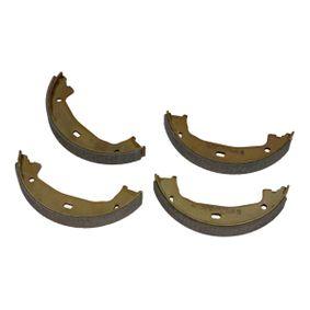 Brake Shoe Set, parking brake Ø: 160,5mm, Width: 20mm, Ø: 160,5mm with OEM Number 34416761291