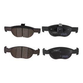 Brake Pad Set, disc brake 19-1089 PUNTO (188) 1.2 16V 80 MY 2000