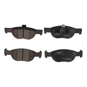 Brake Pad Set, disc brake 19-1089 PUNTO (188) 1.2 16V 80 MY 2002