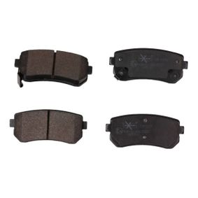 Brake Pad Set, disc brake Width: 93,2mm, Height: 41mm, Thickness: 16mm with OEM Number 58302 4WA10